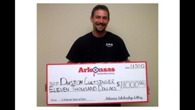 Beebe Man Wins $11,000 with Lottery Scratch-off Ticket