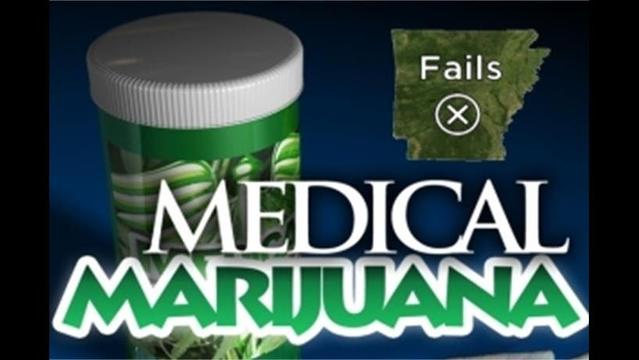 Medical Marijuana Fails in Arkansas
