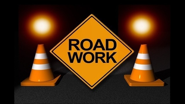 Road Work on Hwy. 35 in Grant County April 7-10