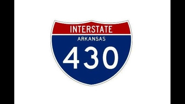 I-430 Lane Closures April 10 in Little Rock