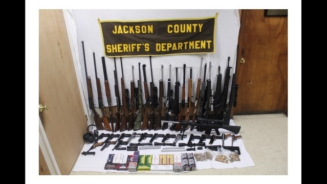 Illegal Weapons Bust in Newport