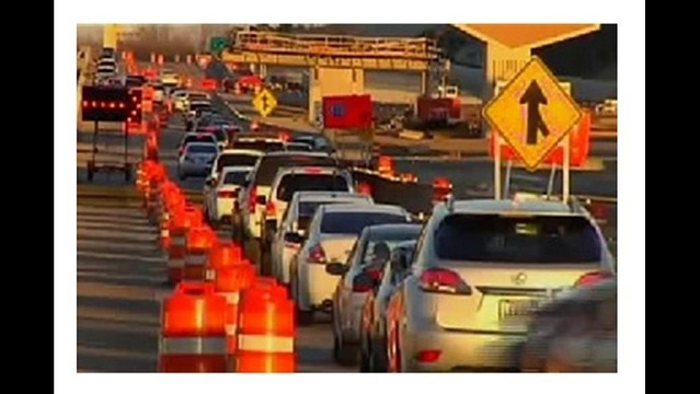 Overnight Lane Closures for Big Rock Interchange