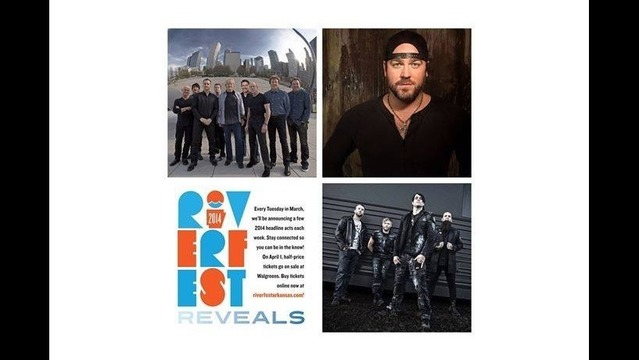 Chicago, Three Days Grace & Lee Brice Join Riverfest 2014 Lineup