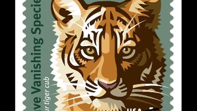 One small stamp for you, one giant leap for vanishing wildlife