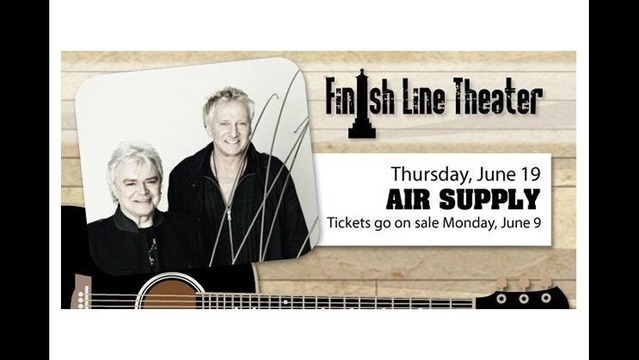 Oaklawn Concert Series Kicks Off June 19 with Air Supply