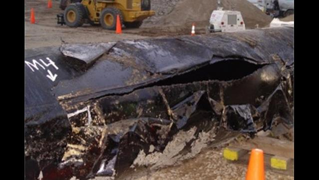 This relatively small oil spill will cost $1 billion to clean up