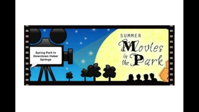 Summer Movies in the Park Starts June 14 in Heber Springs