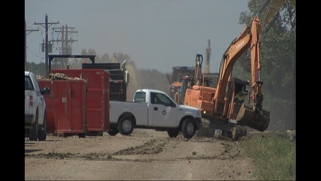 Cleanup Continues Week After Storm Caused Derailment