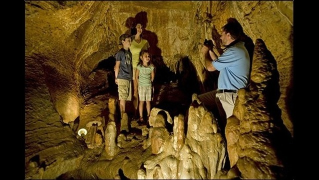 Cool Off in Arkansas Show Caves