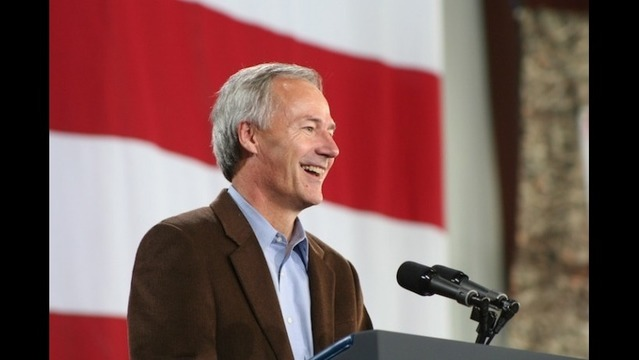 New Campaign Ad for Asa Hutchinson Talks Trade