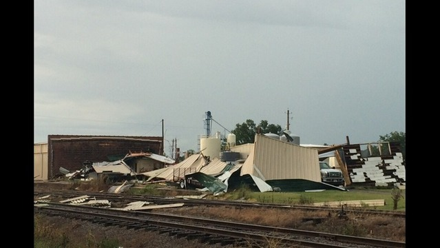 Storms Damage 20-25 Buildings at Fort Chaffee
