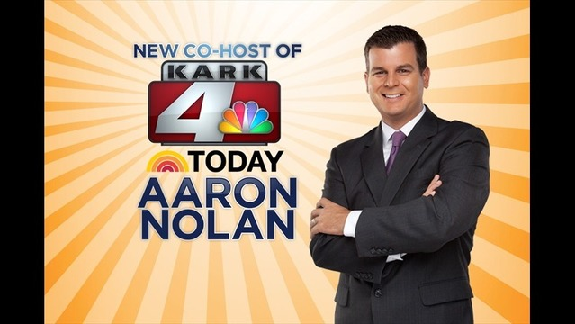 Aaron Nolan Named New KARK 4 Today Co-Anchor
