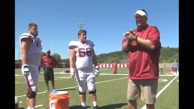 Web Extra: Watch Bret Bielema Take the Ice Bucket Challenge