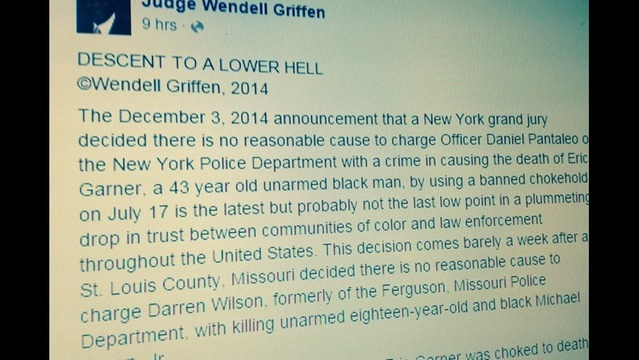Judge Wendell Griffen: Police Relationship with People of Color at New Low