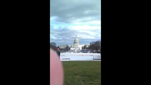 Beebe High School ROTC in Washington for Inauguration 2