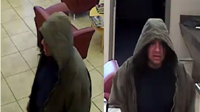 Elkhart police release photos of Key Bank robbery suspect