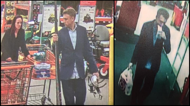 Duo Wanted out of Saline Co. for Identity Theft at Target, Home Depot