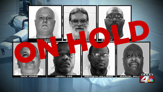 Judge halts Arkansas plan to execute 8 inmates in 11 days