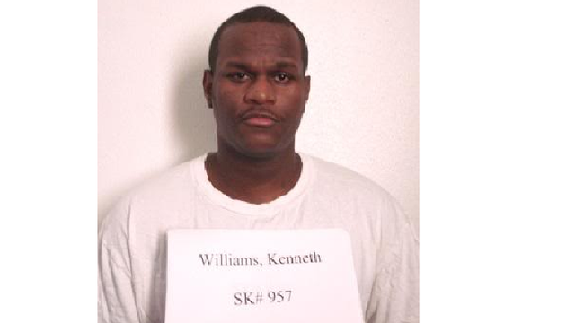 Kenneth Williams Issues Final Statement Ahead of Execution