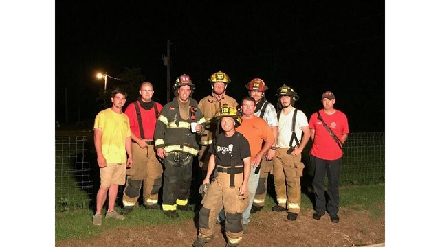 New York City Firefighter Helps Fight Fire in Clark County