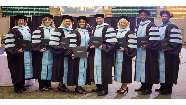 Arkansas Tech Graduates First Doctoral Students in History of School
