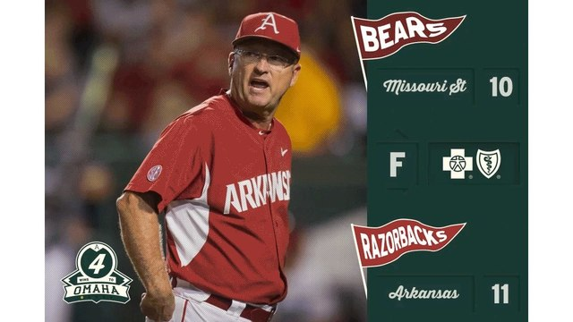 Spanberger's home run lifts Arkansas over Oral Roberts, 4-3