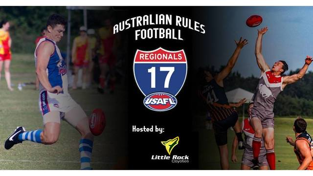 Greater LR Region to Host U.S. Australian Football League 2017 Central Region Tournament