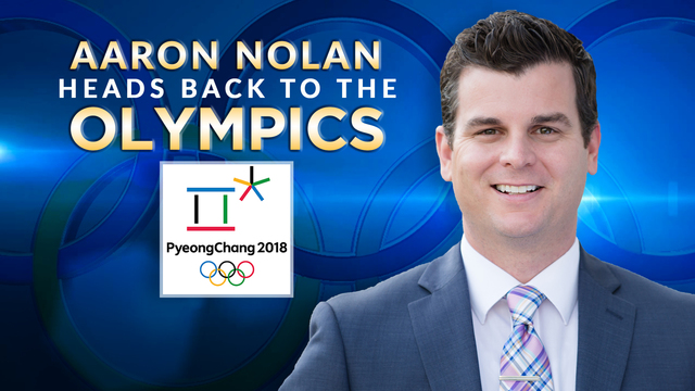 Another Olympic Assignment for Aaron Nolan