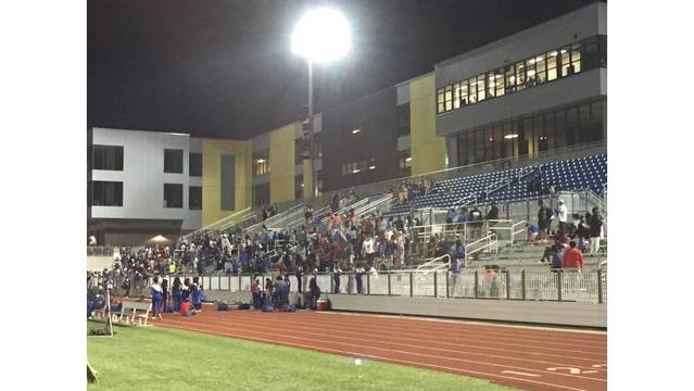 1 Juvenile Shot After Fight Outside NLR High School Football Game