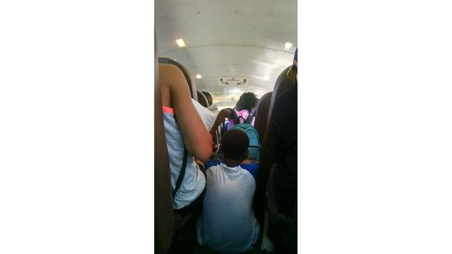 Parents Say Students Forced to Sit on Floor of School Bus
