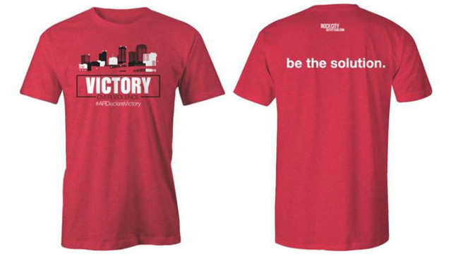 Rock City Outfitters Selling Arkansas Declares Victory Over Violence Shirts