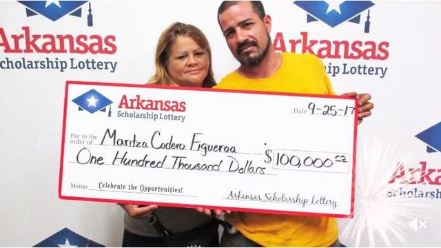 LR Woman to Help Hurricane Victims with Lottery Winnings