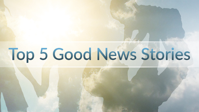 Top 5 Good News Stories for the Week of October 23