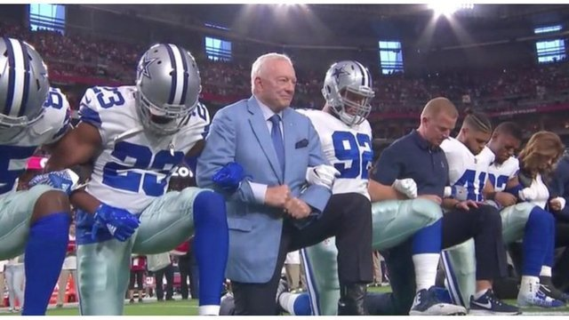 Jones: Stand for Anthem or Don't Play