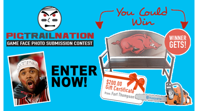 Call Pig Trail Nation Fans to Enter the Game Face Photo Contest