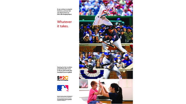 Stand up to Cancer & MLB Hit Home with Powerful New PSA