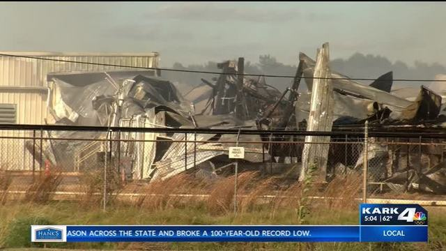 Fire Chief States Cause of Crossett Mill Fire