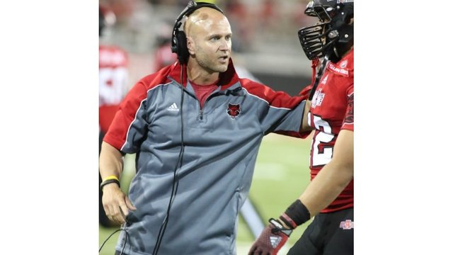 Arkansas State Coach Named Semi-Finalist for 2017 Broyles Award