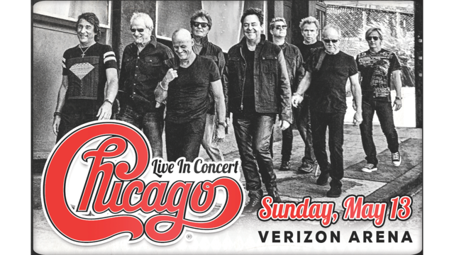 Chicago Rocks Verizon Arena May 2018