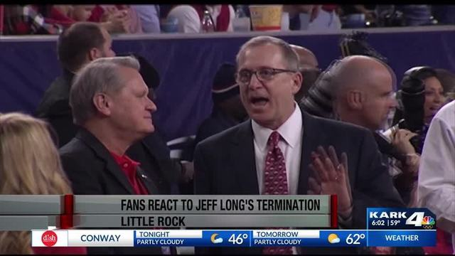 Arkansas fans react to reports of AD Jeff Long being fired