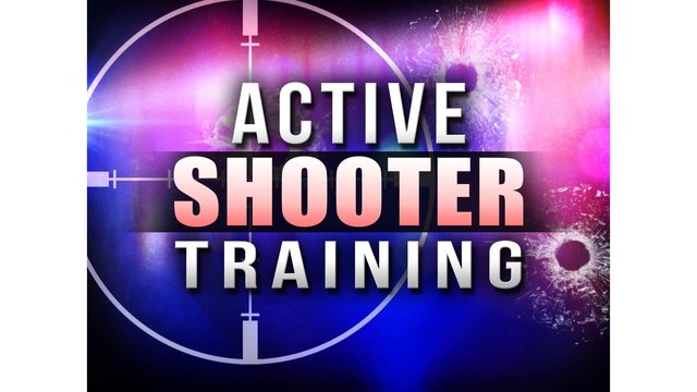 Active Shooter Training to Be Held in LR on Monday