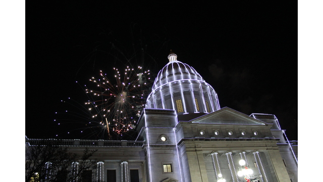 2017 Lighting of  the Capital Fireworks