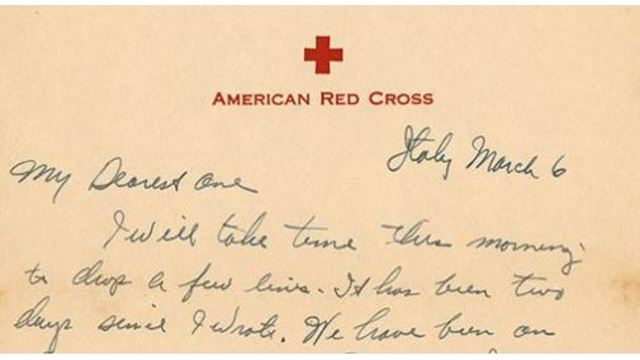 300+ WWII Letter Collection at UA Library