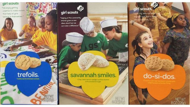 Girl Scout Cookie Sale Begins for 2018