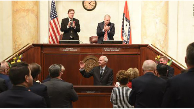 Governor Hutchinson Addresses 91st General Assembly
