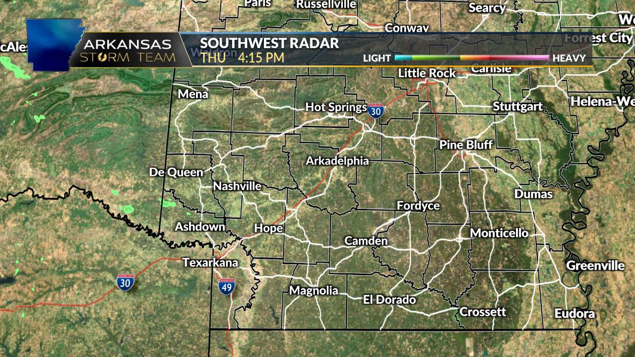 SW Arkansas Radar