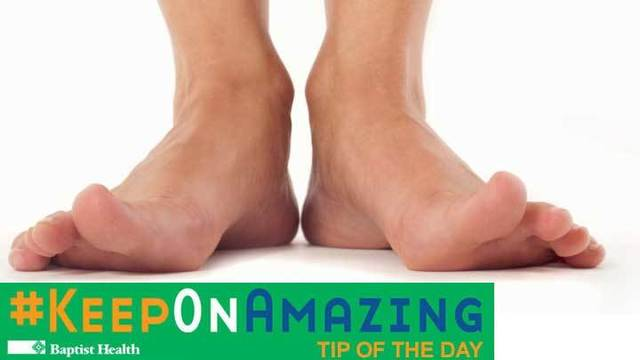 Health Tip: Prevent Warts on Your Feet