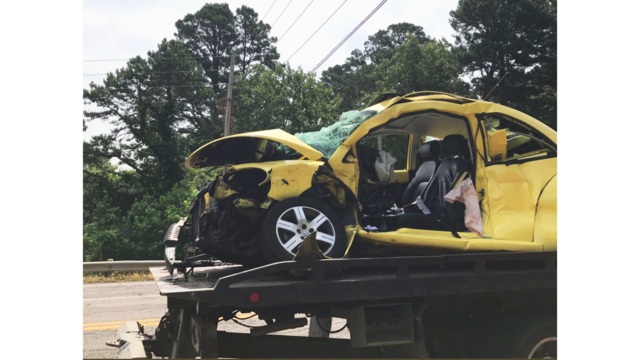 Fatal Three Car Accident in Russellville