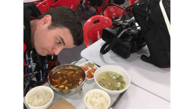 Aaron Nolan lunching in South Korea and now sure what he's about to eat_1519143295406.JPG.jpg