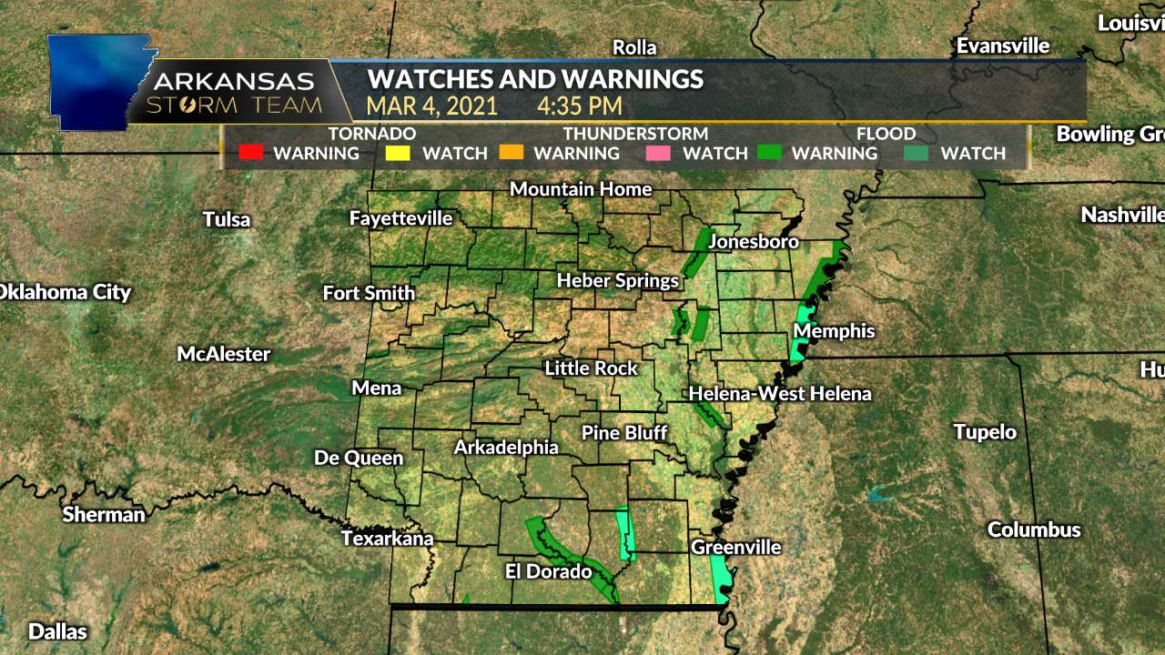 Watches & Warnings